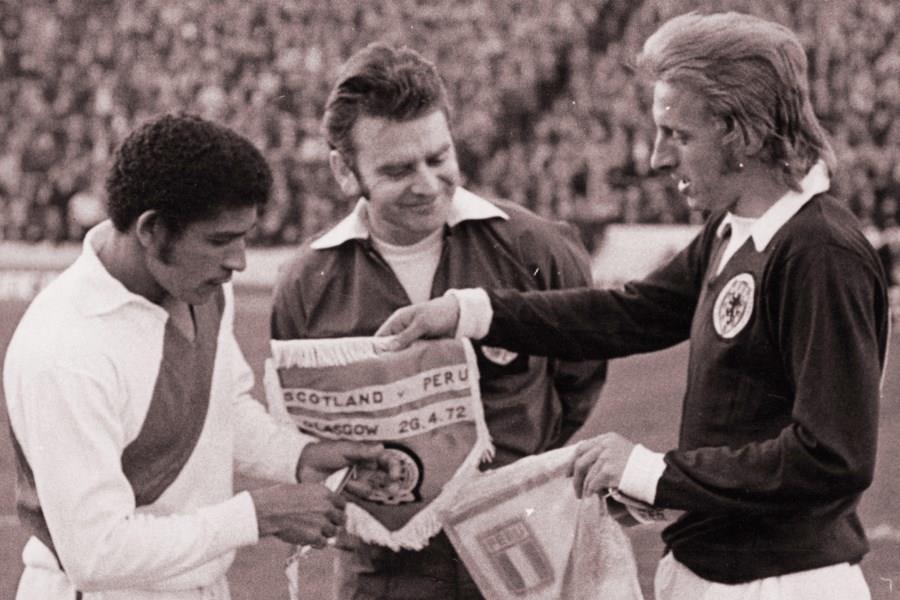 Denis Law, Scotland v Peru, 1972
