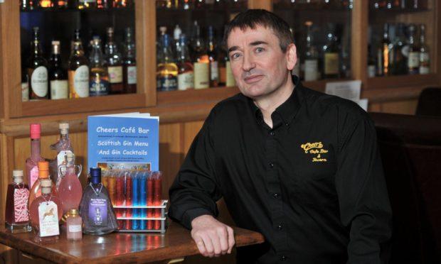 Dennis Forsyth, director of Cheers Cafe Bar in Fraserburgh