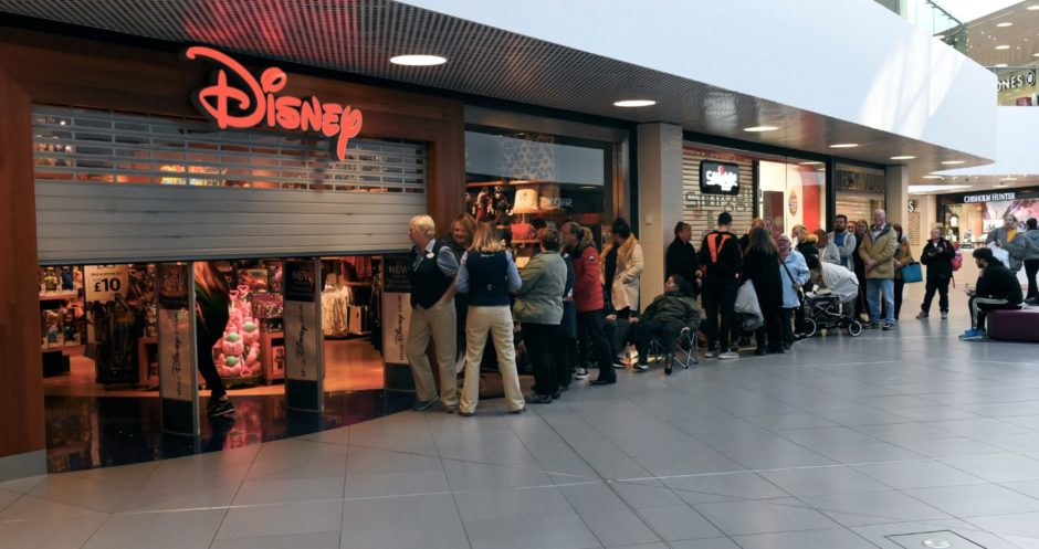 The Disney shop was remembered fondly by many readers.