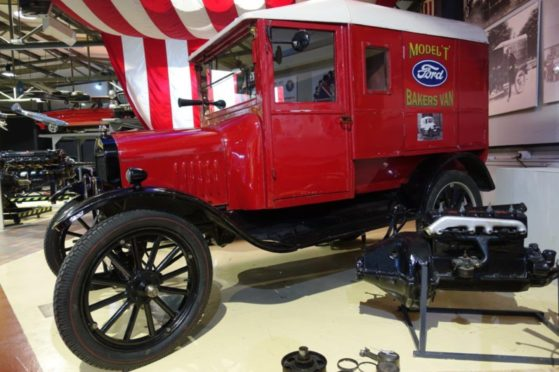Ford Model T Baker's van at GTM.