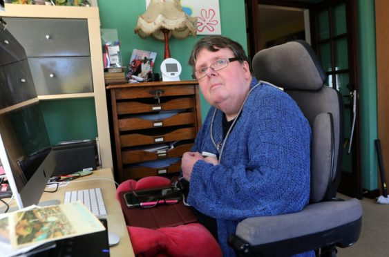 Jackie Smith is unable to do many things without help
