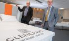 l-r Glencraft acting chairman Jonathan Smith and managing director Graham McWilliam at the charity's Aberdeen showroom.