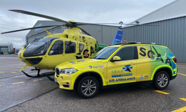 Scaa: Aberdeen air ambulance crew now saving lives by road too