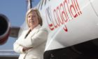 Loganair chief commercial officer Kay Ryan
