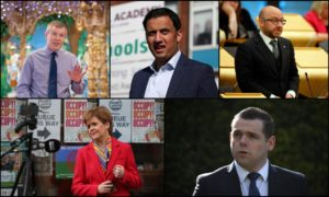 Scotland's party leaders