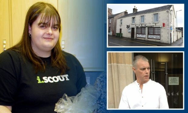 Accused Lynsey Smeaton, with Jeremy Higgins and the Dreadnought Inn
