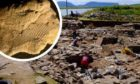 An ancient fingerprint was found in a bit of clay at Ness of Brodgar