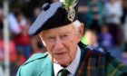 Captain Alwyne Farquharson, Chieftain of the Ballater Highland Games. Picture by KENNY ELRICK     09/08/2018