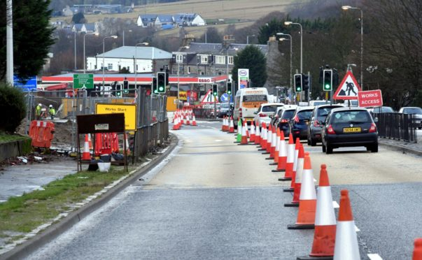 Work is to begin on the Haudagain roundabout next week.