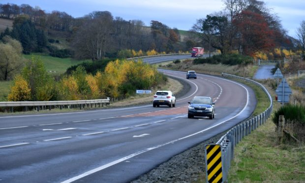 Nearly 500 drivers were caught on one stretch of road.