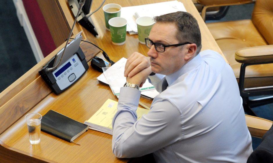 Council co-leader Douglas Lumsden