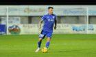 Derek Lyle scored for Peterhead against East Fife.