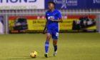 Cove Rangers loanee Kieran Ngwenya.