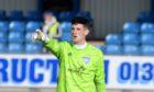 Peterhead goalkeeper Lenny Wilson