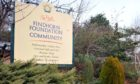 The entrance to the Findhorn Foundation community.