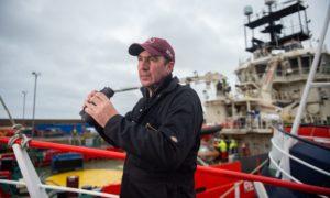 Fishing skipper John Clark