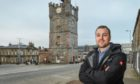Fraser McGill, chairman of Dufftown and District Community Association.