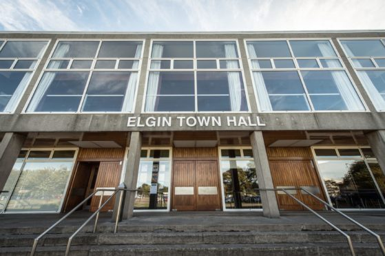 Elgin Town Hall has been run by a community group since August 2018.