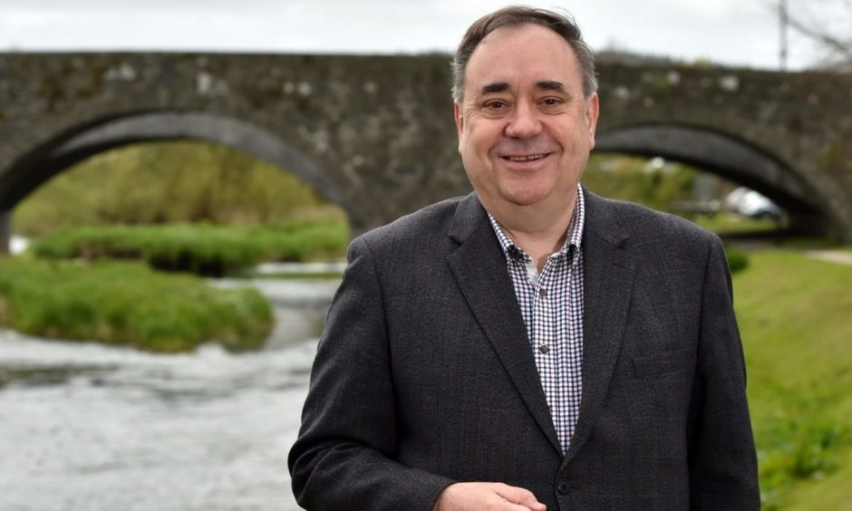Alex Salmond made his 'declaration' in Ellon.