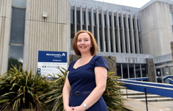 Leigh Jolly is Aberdeenshire Council's head of children's services.