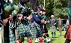 The Duke of Rothesay attending the Ballater Highland Games in 2019.