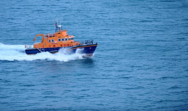 Thurso lifeboat. Picture by Sandy McCook