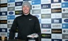 Kieran Cantley after winning the 2021 Royal Dornoch Masters.