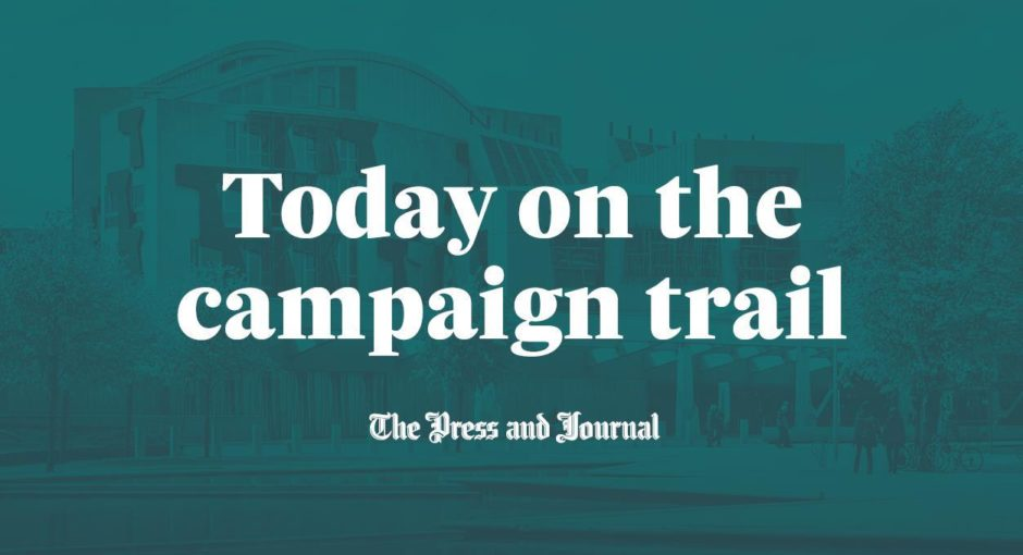 To go with story by Adele Merson. P&J Today on the Campaign Trail (amended). Scottish Election 2021. Picture shows; P&J Today on the Campaign trail graphic (amended).. N/A. Supplied by DCT Media. Date; Unknown