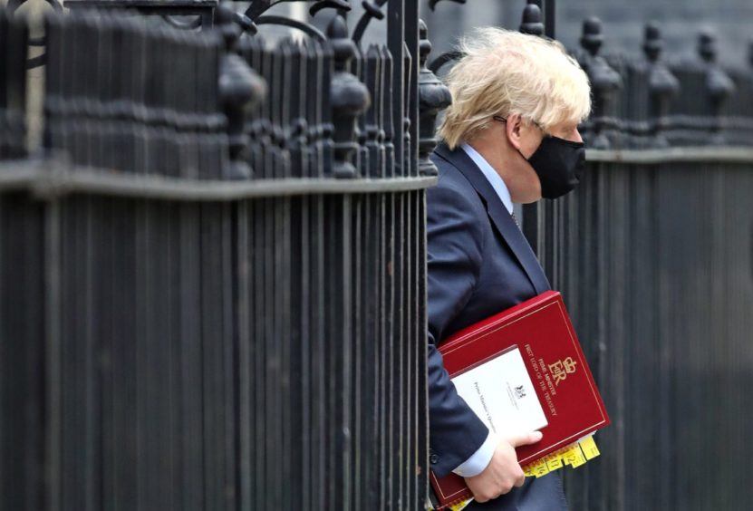 Boris Johnson lockdown comments