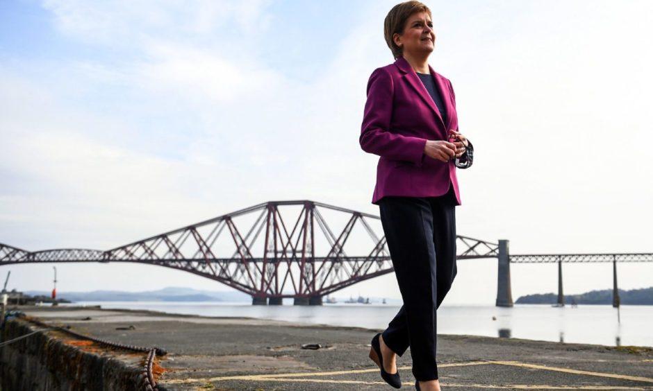 Nicola Sturgeon majority