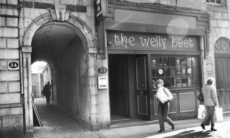 The Welly Boot was a favourite city centre pub, later becoming The Tilted Wig, then The Wig.