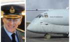 Prince Philip and the Nimrod at Kinloss that carries his name.