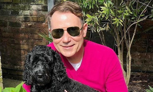 Richard Arnold and Clemmie.
