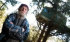 Jake Williams, 71, has lived deep in the Clashindarroch forest, near Rhynie, for more than 30 years.