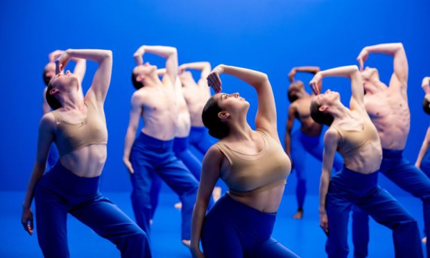 A scene from Dive, one of two new Scottish Ballet films premiering for International Dance Day.