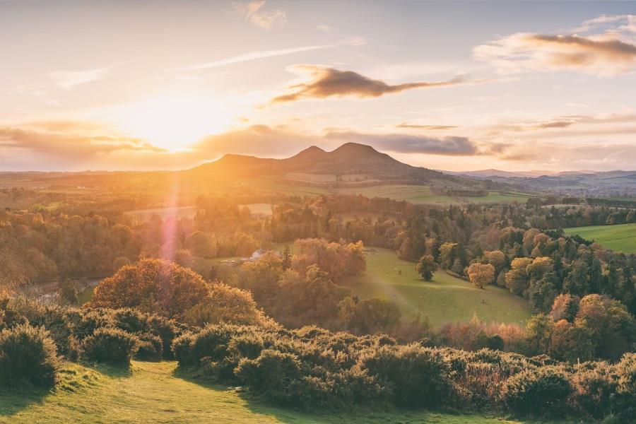 The Scottish Borders.