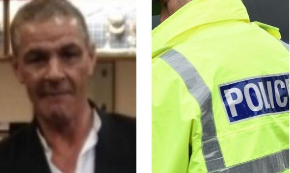 David Budge, who was last seen on Tuesday.