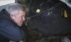 Willie Rennie set out his party's plans for agriculture while visiting a farm near Lauder.