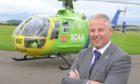 David Craig, chief-executive of Scotland's Charity Air Ambulance (SCAA).