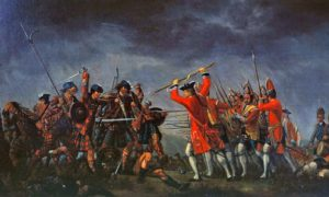 The Jacobites were routed by the Duke of Cumberland at Culloden in 1746.