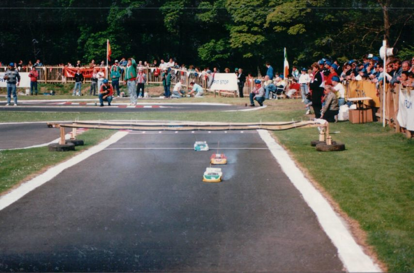 1980s: SDRCC was originally founded to promote 1/8 scale nitro on-road racing.