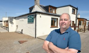 Highland councillor and hotelier of the Smoo Cave Hotel, Hugh Morrison.
