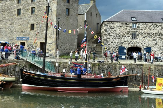 The 2019 Scottish Traditional Boat Festival in Portsoy. Picture by Jim Irvine