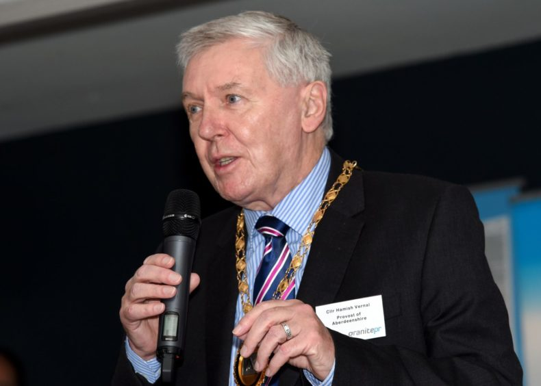Former Aberdeenshire provost Hamish Vernal has joined the Alba Party.