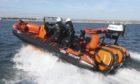 New rescue boat