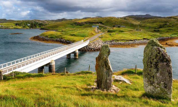 Bernera Bridge in the Outer Hebrides.