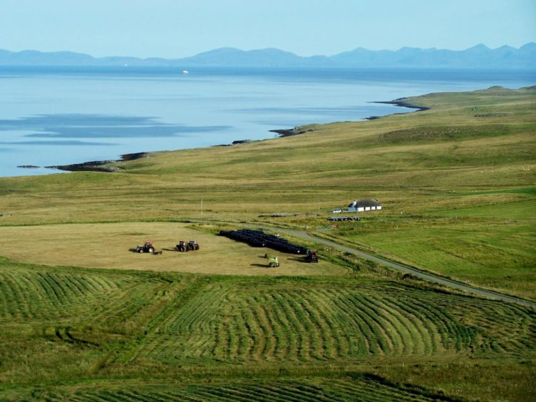 More than 400 crofters responded to the survey.