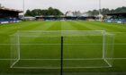 Ross County's Victoria Park Stadium, Dingwall.