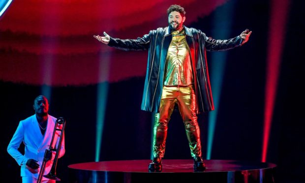 This year's UK Eurovision entry, James Newman, didn't bring home any points