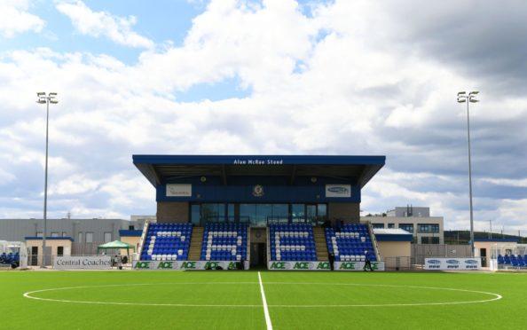Balmoral Stadium, home of Cove Rangers.